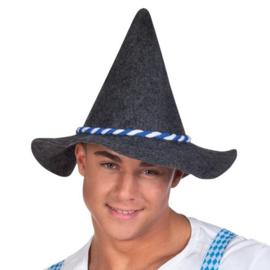 Hoed Bavaria met blauw/wit koord
