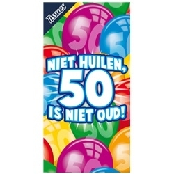 Tissuebox, Niet huilen 50 is niet oud