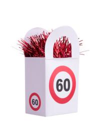 Ballon gewicht traffic 60 jaar