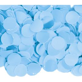 Confetti babyblauw 1kg (BrV)