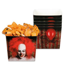 Bakjes Horror clown (6st.)