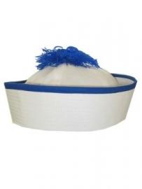 Matrozenpet blauw/wit (peppi&kokki)