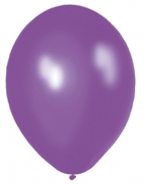 Ballonnen 10st. Paars standaard