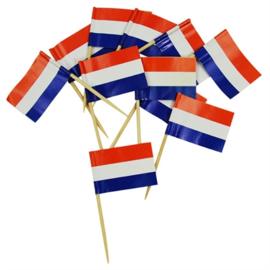 Cocktailprikkers Nederland (50st.)