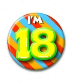 Button 18 jaar