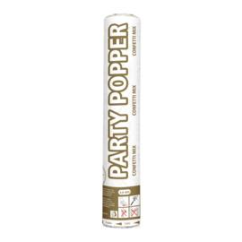 Party popper goud/zilver 26cm