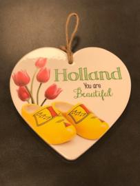 Hartje Holland - Klompen/tulpen