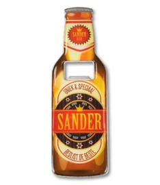Magneet fles opener - Sander