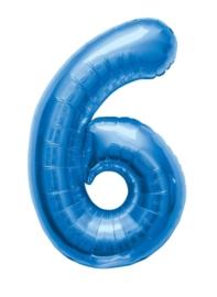 Folieballon 86cm Blue 6
