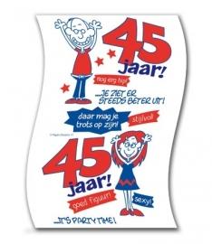 WC papier 45 jaar