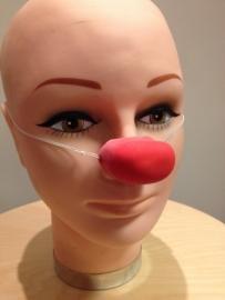 Neus clown latex rechthoek