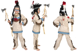 Indiaan Thundering Teepee mt. 116