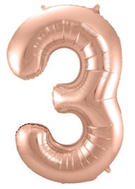 Folieballon 86cm Rose goud 3