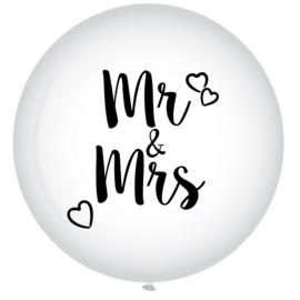 Ballon XL Mr & Mrs