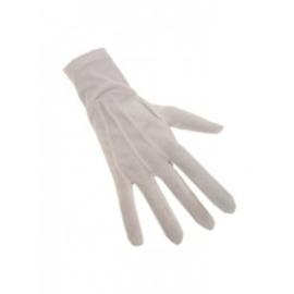 Handschoenen katoen wit mt. XL