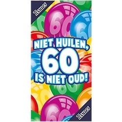 Tissuebox, Niet huilen 60 is niet oud
