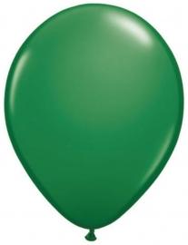Ballonnen 10st. Donker Groen metallic