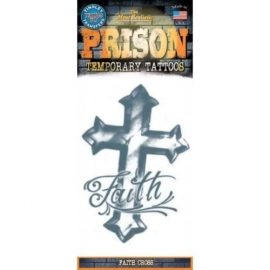 Tattoo Prison Faith Cross