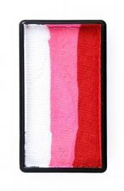 Splitcake PXP 28gr wit/roze/rood