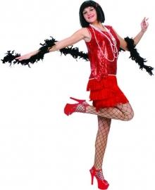 Charleston dress red mt.36/38