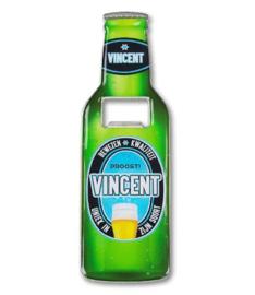 Magneet fles opener - Vincent