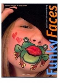 Boek funky faces kikkerkusje