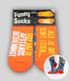 Funny socks - Afstandsbediening