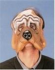 Masker rubber half hond