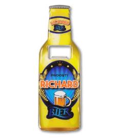 Magneet fles opener - Richard