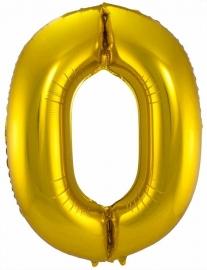 Folieballon 34 inch Gold 0