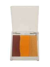 Splitcake PXP aqua bruin/oranje/goud