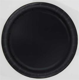 Borden 17 cm zwart 8st.