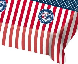Tafelkleed USA Party 130x180cm