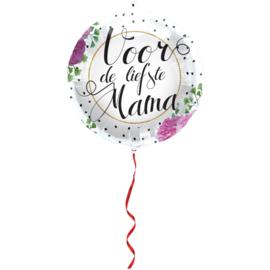 Folieballon Voor de liefste mama