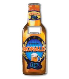 Magneet fles opener - Ronald
