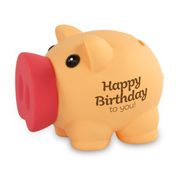 Spaarvarkentje - Happy Birthday