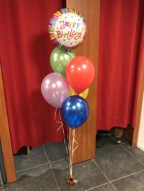 Complete tros heliumballonnen voor de jarige!