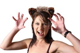 Diadeem luipaard oren