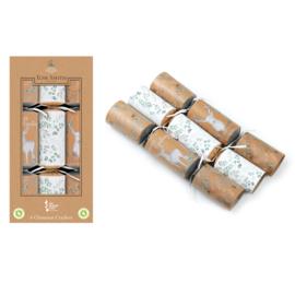 Christmas crackers doos 2104 rendier 6x 12 inch