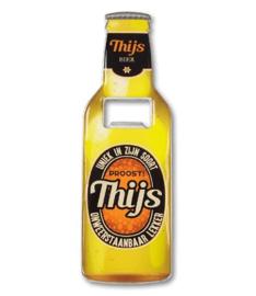 Magneet fles opener - Thijs