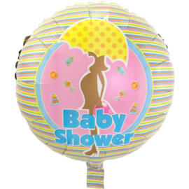 Folieballon babyshower