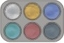 Grimas waterpalet 6 kleuren pearl