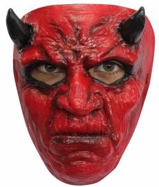 Masker rubber Duivel rood