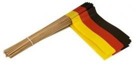 Vlaggetje op stok papier Duitsland