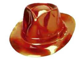 Hoed Al Capone stetson oranje plastic
