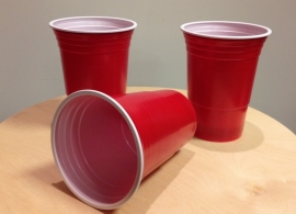 Red Cups per 25st.