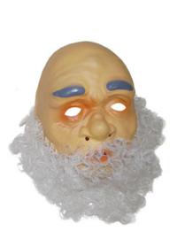 Masker pl. oude man met haar