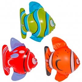 Opblaas vissen 3st.