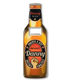 Magneet fles opener - Danny