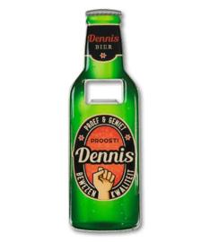 Magneet fles opener - Dennis